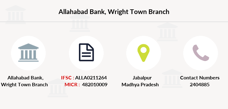 Allahabad-bank Wright-town branch