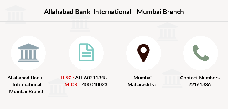 Allahabad-bank International-mumbai branch