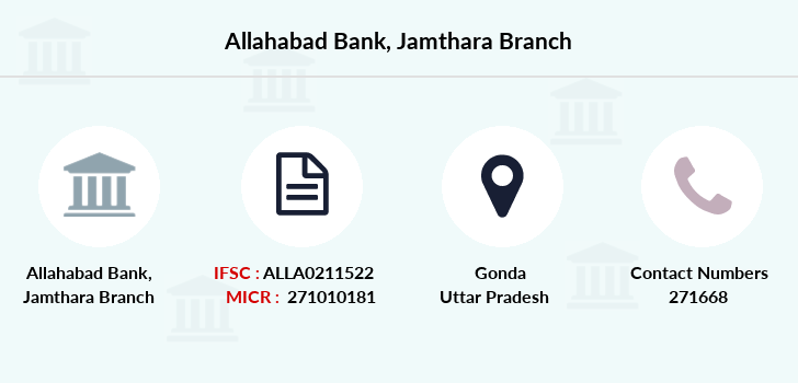 Allahabad-bank Jamthara branch