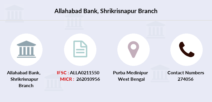 Allahabad-bank Shrikrisnapur branch
