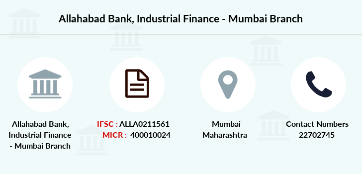 Allahabad-bank Industrial-finance branch