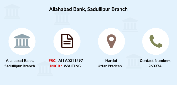 Allahabad-bank Sadullipur branch