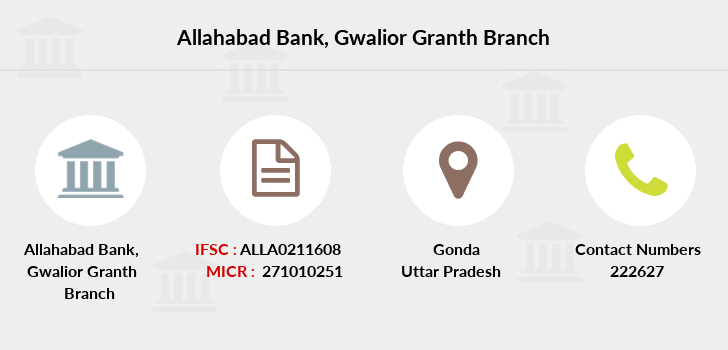 Allahabad-bank Gwalior-granth branch