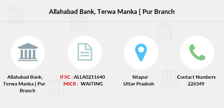 Allahabad-bank Terwa-manka-pur branch