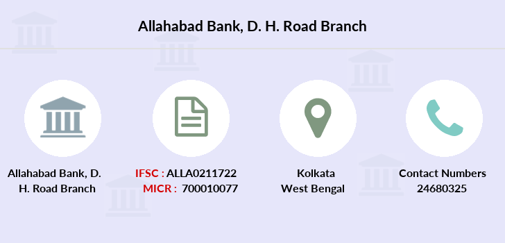 Allahabad-bank D-h-road branch