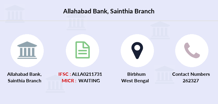Allahabad-bank Sainthia branch
