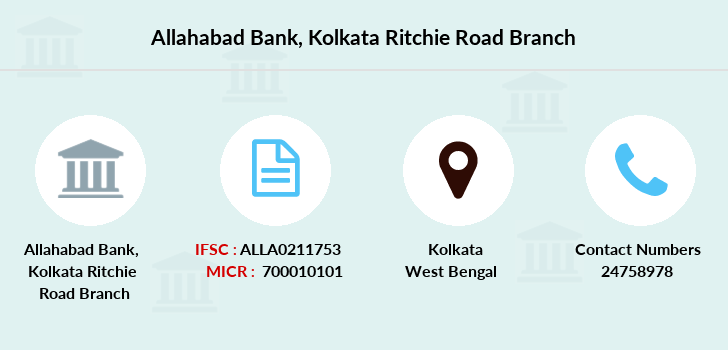 Allahabad-bank Kolkata-ritchie-road branch