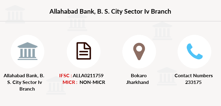Allahabad-bank B-s-city-sector-iv branch