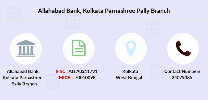 Allahabad-bank Kolkata-parnashree-pally branch