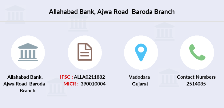 Allahabad-bank Ajwa-road-baroda branch