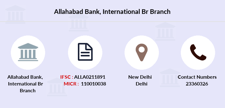 Allahabad-bank International-br branch