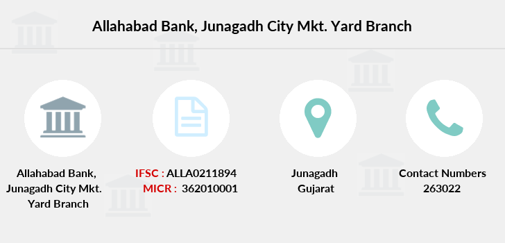 Allahabad-bank Junagadh-city-mkt-yard branch
