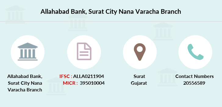 Allahabad-bank Surat-city-nana-varacha branch