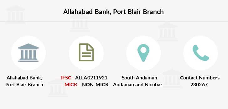 Allahabad-bank Port-blair branch