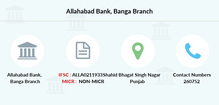 Allahabad-bank Banga branch