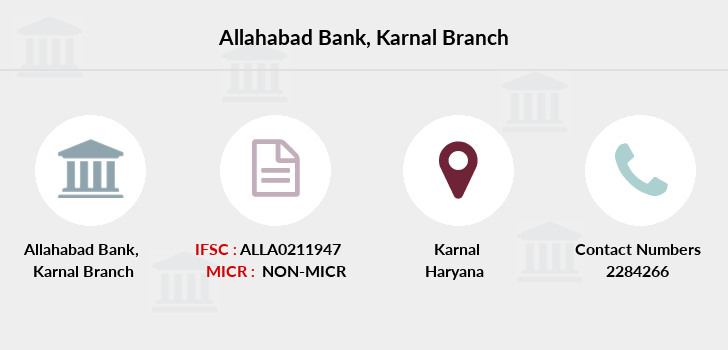 Allahabad-bank Karnal branch