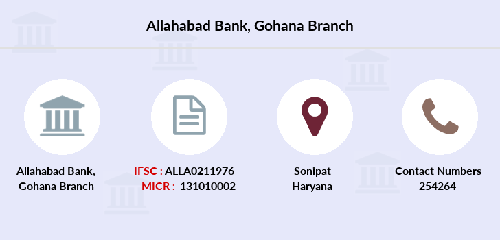 Allahabad-bank Gohana branch