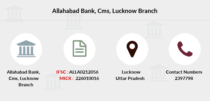 Allahabad-bank Cms-lucknow branch