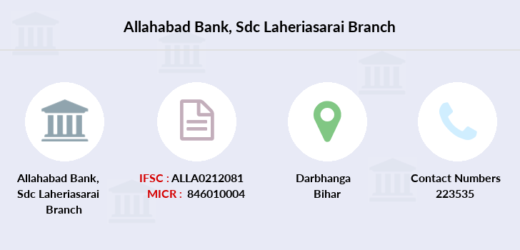 Allahabad-bank Sdc-laheriasarai branch