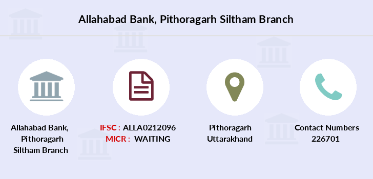 Allahabad-bank Pithoragarh-siltham branch
