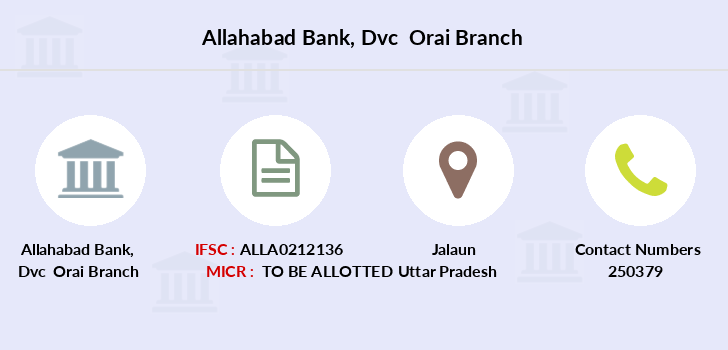 Allahabad-bank Dvc-orai branch