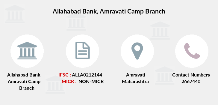Allahabad-bank Amravati-camp branch