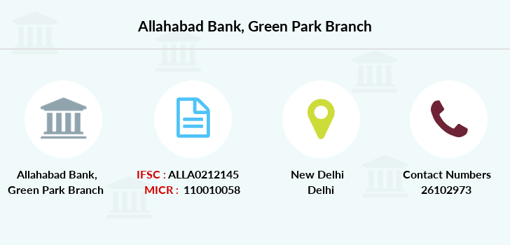 Allahabad-bank Green-park branch