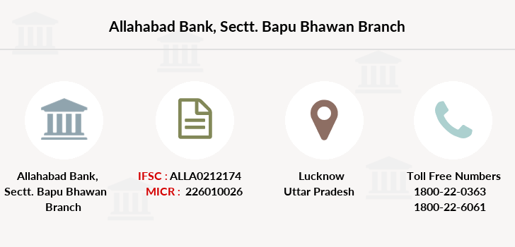 Allahabad-bank Sectt-bapu-bhawan branch