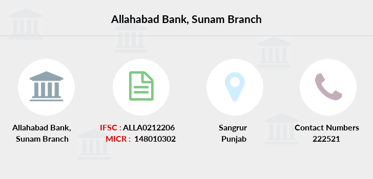 Allahabad-bank Sunam branch