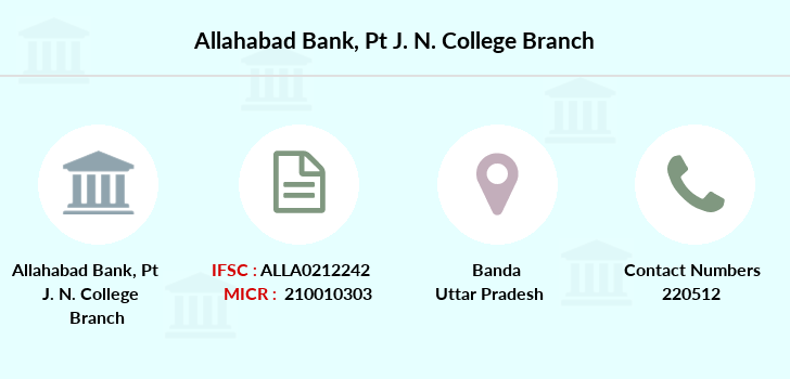 Allahabad-bank Pt-j-n-college branch