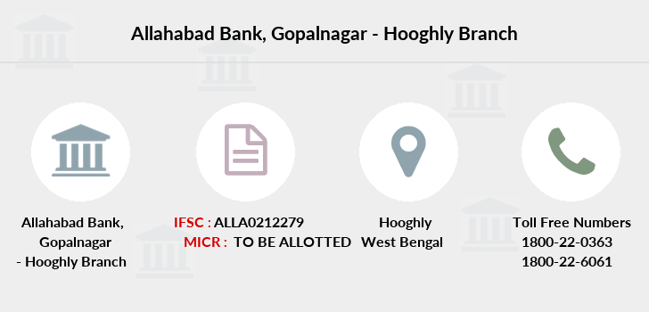 Allahabad-bank Gopalnagar-hooghly branch