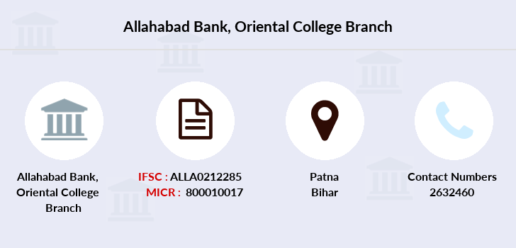 Allahabad-bank Oriental-college branch