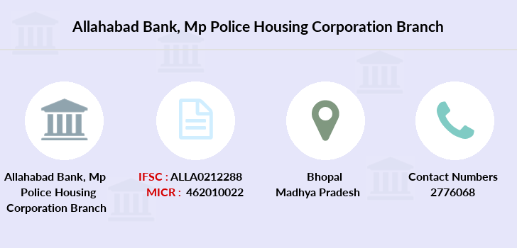 Allahabad-bank Mp-police-housing-corporation branch