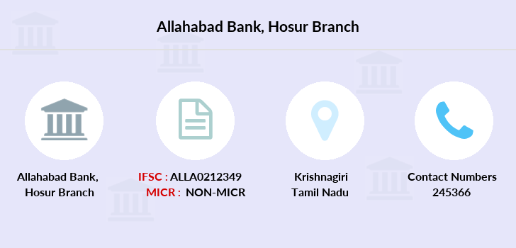 Allahabad-bank Hosur branch