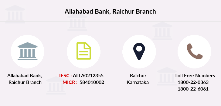 Allahabad-bank Raichur branch