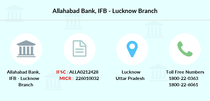 Allahabad-bank Ifb-lucknow branch