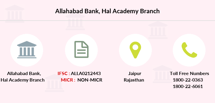 Allahabad-bank Hal-academy branch