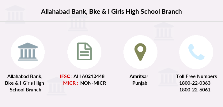 Allahabad-bank Bke-i-girls-high-school branch