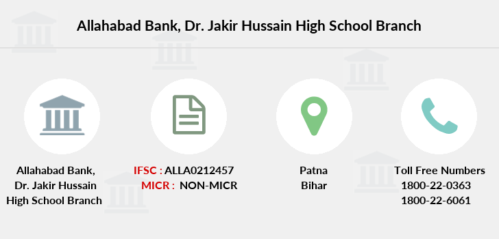 Allahabad-bank Dr-jakir-hussain-high-school branch