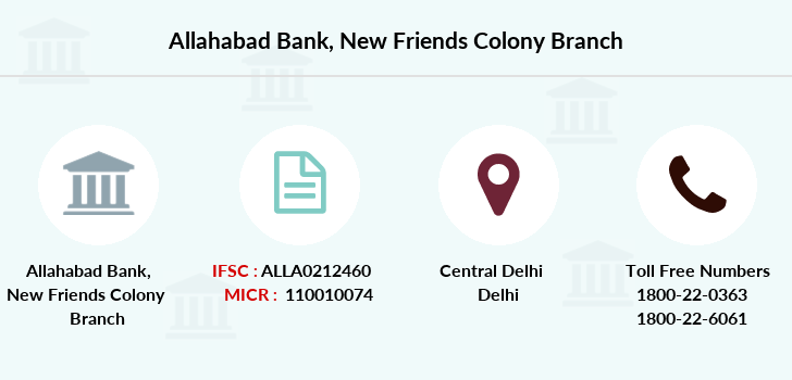 Allahabad-bank New-friends-colony branch