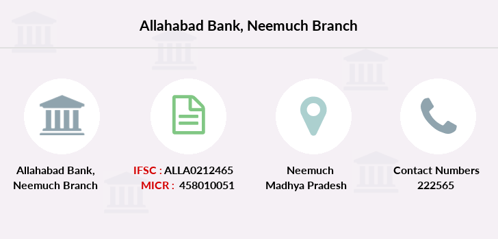 Allahabad-bank Neemuch branch
