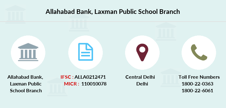 Allahabad-bank Laxman-public-school branch