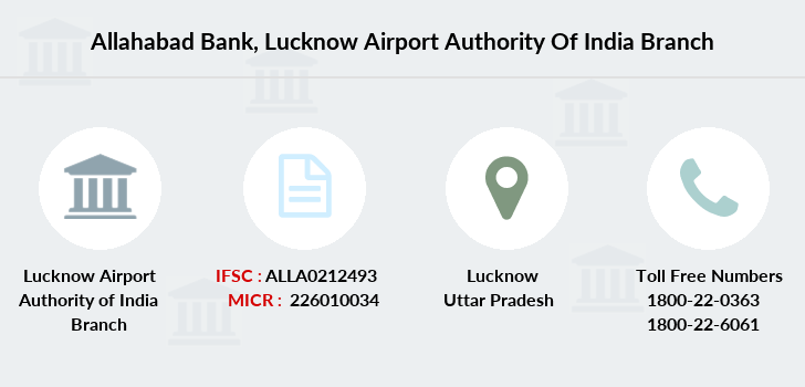 Allahabad-bank Lucknow-airport-authority-of-india branch