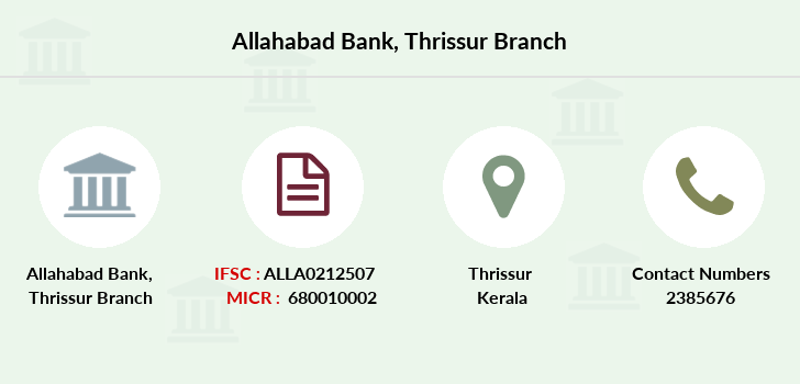 Allahabad-bank Thrissur branch