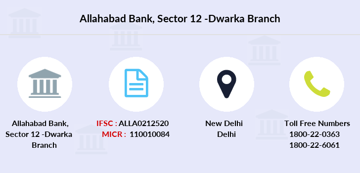 Allahabad-bank Sector-12-dwarka branch