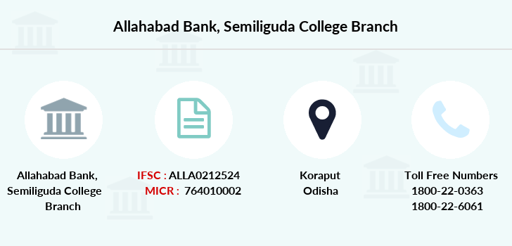 Allahabad-bank Semiliguda-college branch