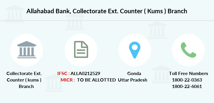 Allahabad-bank Collectorate-ext-counter-kums branch