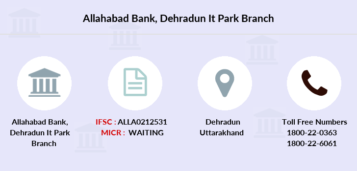 Allahabad-bank Dehradun-it-park branch