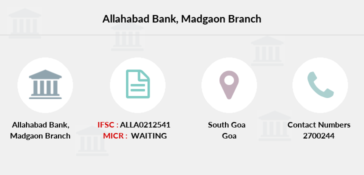 Allahabad-bank Madgaon branch