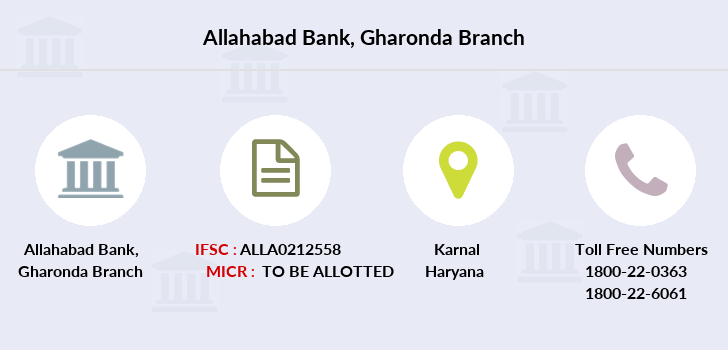 Allahabad-bank Gharonda branch